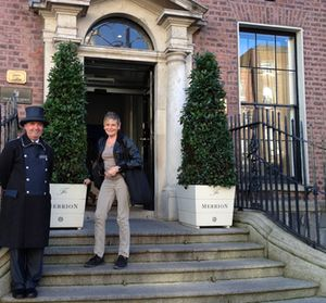 Doorman Tommy at The Merrion
