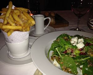 The Cellar super salad…