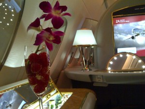 First class suite - Emirates airlines