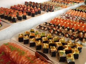 Sushi, in military order