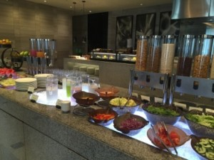 The breakfast buffet is one of Asia's best