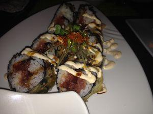 Oishi ('very good') sushi at KO