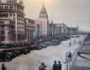 The Bund, in olden days