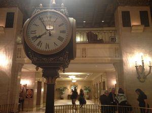 Fairmont Royal York's celebrated lobby clock