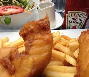 Fish and chips in Tauranga