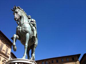 Cosimo de'Medici, in front of ...