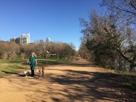 Lady Bird Lake walk