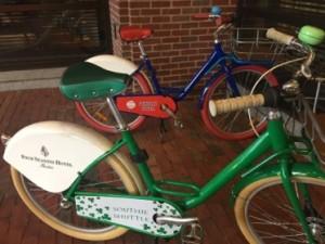 Four Seasons Boston bikes