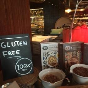 Gluten-free breakfast corner