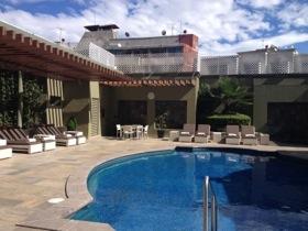 The upper-terrace pool