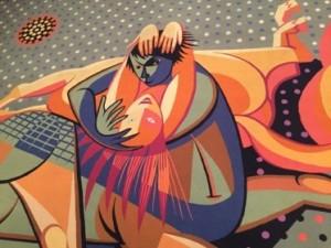 Centaur tapestry, J. Almada Negreiros, 1893-1970