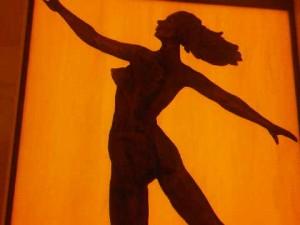 Wall silhouette, Four Seasons Hotel Shanghai
