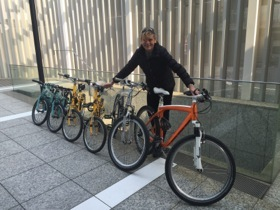 Bikes in all sizes