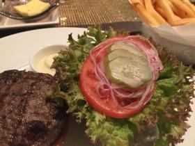 .. and hamburger