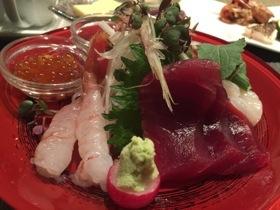 Japanese sashimi....