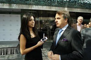 Halla Rafati and Sean O'Shea