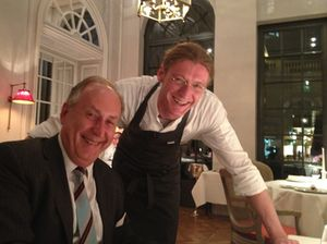 Armin Schroecker and chef Patrick Ritter
