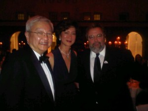 Ted Tend, president and CEO Leading Hotels of the World and guests