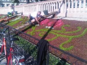 gardeners working geneva switzerland