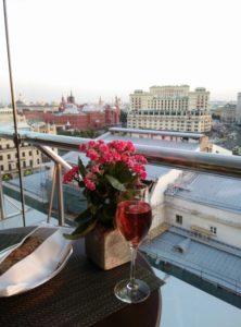 View from Ararat Park Hyatt, Moscow