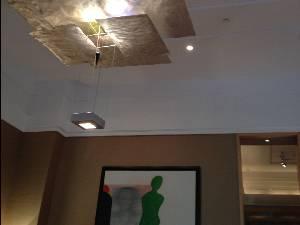 Palacio Duhau luxury hotel's ceiling detail