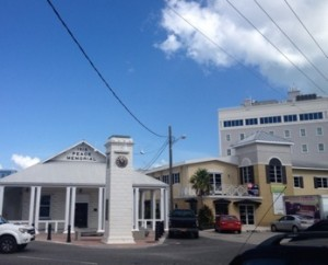 The charming centre of Georfe Tow
