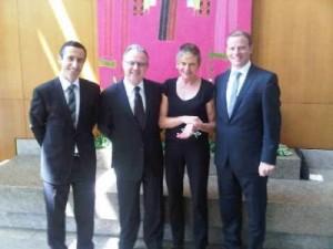 Grand Hyatt Sao Paulo management and luxury travel writer Mary Gostelow