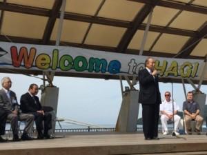 The Mayor of Hagi says welcome
