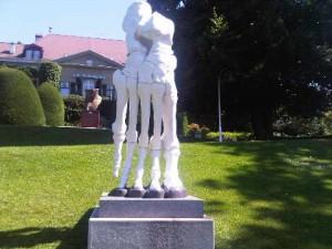 Born Fast, by Hungkoo Lee., at Olympic Park, Geneva