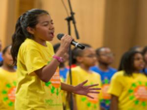 Washington Performing Arts gospel choir