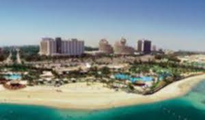 The comfortable Hilton Abu Dhabi, vintage 1980, has 2,500 ardent Beach Club members