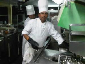 Chefs cook everything onboard Orient Express' Hiram Bingham luxury train in Peru