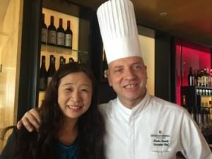 Ida Wong and Nicola Canutie