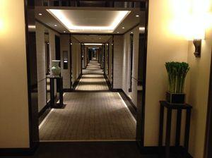 Looking along a 'new' corridor...