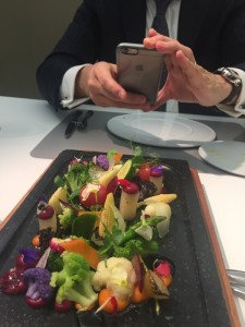 A vegetable medley is pretty as a picture