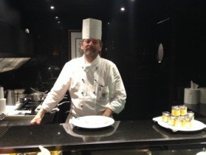 The breakfast chef is ready