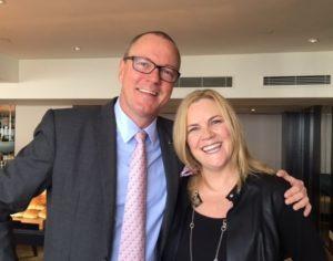 Ritz-Carlton's Derek Flint and Allison Sitch
