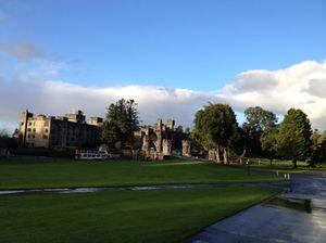 Ashford Castle outside…
