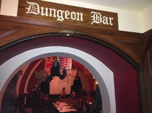 The Dungeon Bar temporarily hosts a Harry Potter school