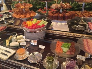 Pétrus buffet....