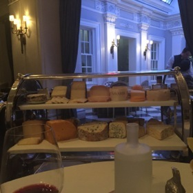 Cheese trolley in Plume