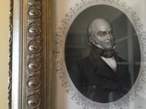 John Quincy Adams, hanging in The Jefferson, suite 803