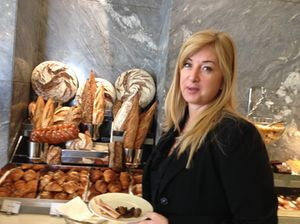 .. pattern of breads (and Doris Greif keeps quiet for a second)
