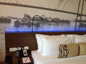 A starter room at Calcutta's newest hotel, a signature Gateway