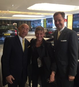 Edward Wa and Ulf Bremer, and brand-new Mercedes
