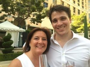 ILTM Senior Director Alison Gilmore and Hilton Luxury Samuel Chamberlain