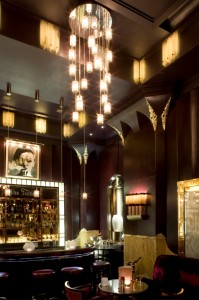 Le Fumoir at Claridge's, London, designed by Alexandra Champalimaud