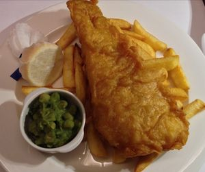 Fish and chip dinner…