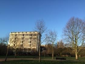 The Royal Garden Hotel overlooks Kensington Gardens