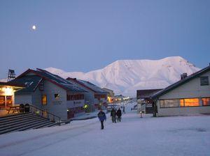 Longyearbyen, almost winter…